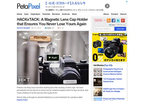 A Magnetic Lens Cap Holdert