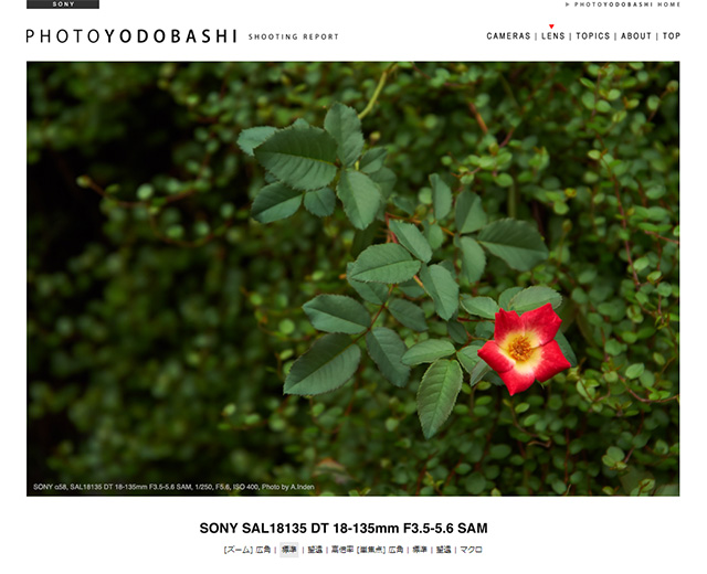 SONY SAL18135 DT 18-135mm F3.5-5.6 SAM