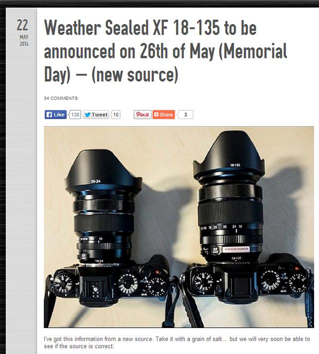 XF18-135mmF3.5-5.6 R OIS WR