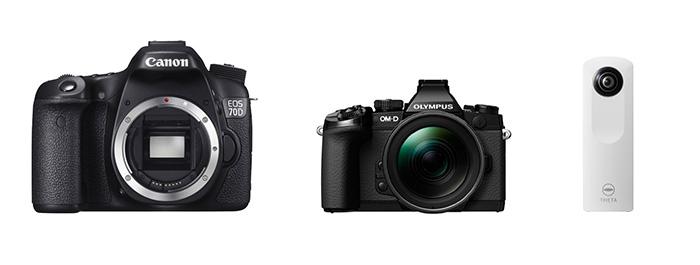 カメラグランプリ2014 OM-D E-M1 EOS 70D RICOH THETA