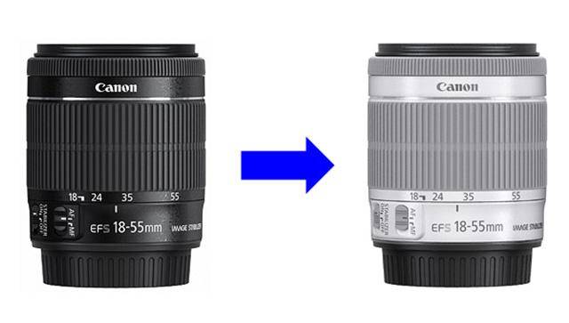 がEF-S18-55mm F3.5-5.6 IS STMホワイトモデル交換サービス