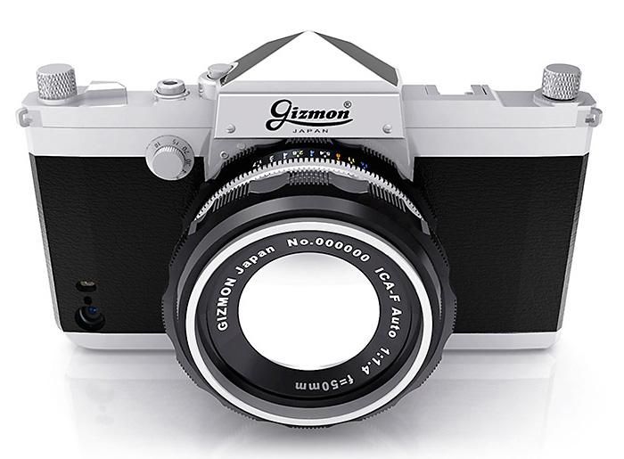 一眼レフカメラ風iPhone 5s/5 ケース「GIZMON iCA5 SLR」