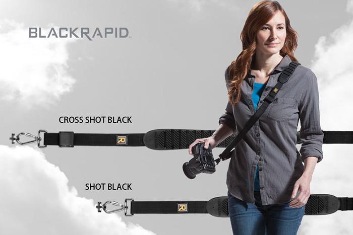 BLACKRAPID「SHOT」と「CROSS SHOT」