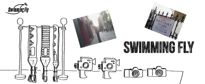 Swimming Fly(スイミングフライ)カメラストラップ
