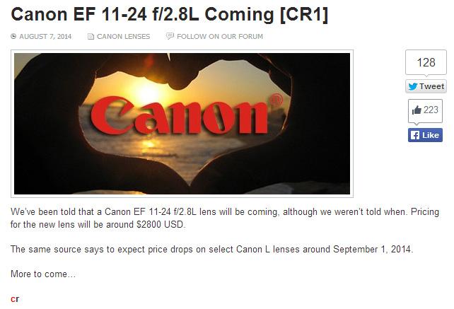 EF11-24mmF2.8L