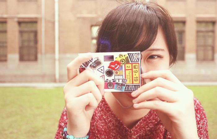 紙製デジタルカメラ「Paper Shoot(ペーパーシュート)」