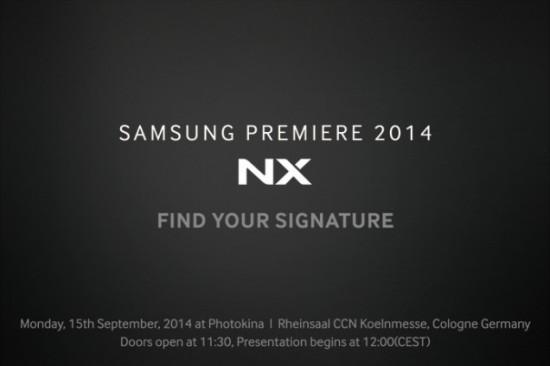 サムスン 2800万画素センサー採用のAPS-Cミラーレスカメラ「NX1」9月15日発表!?