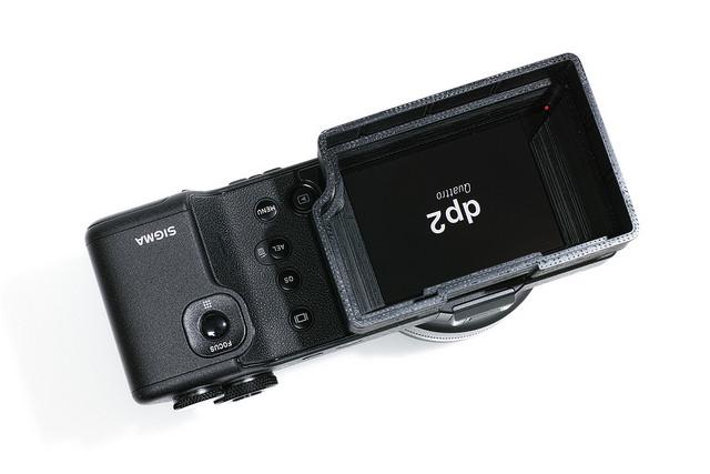 SIGMA dp2 Quattro用「のびる液晶シェード」