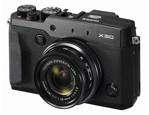 フジフイルム「X30」ブラックのリーク画像