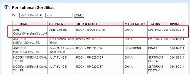 リコー新型タフネスデジカメ「WG-M1」