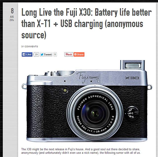 X30はバッテリーライフが向上し、400枚以上の撮影が可能!?