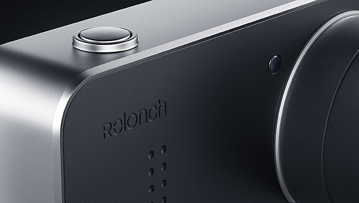 APS-Cセンサー搭載のiPhone 5/6専用ケース一体型カメラ「Relonch Camera」