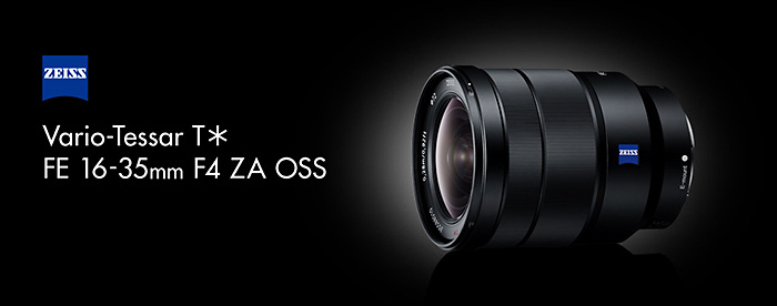 Vario-Tessar T* FE 16-35mm F4 ZA OSS(SEL1635Z)