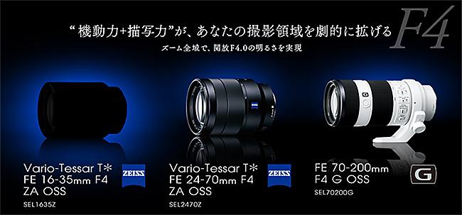 Vario-Tessar T* FE16-35mm F4 ZA OSS(SEL1635Z)