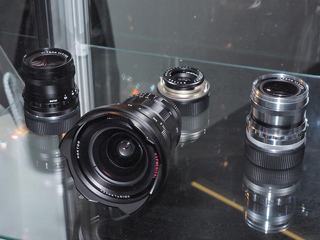 フォクトレンダー「NOKTON 10.5mm F0.95」、「HELIAR 40mm F2.8」、「ULTRON 35mm F1.7」「SUPER WIDE-HELIAR 15mm F4.5 Aspherical VM(TypeIII)」
