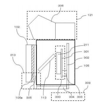 Canon マウントをヒートシンクにする特許