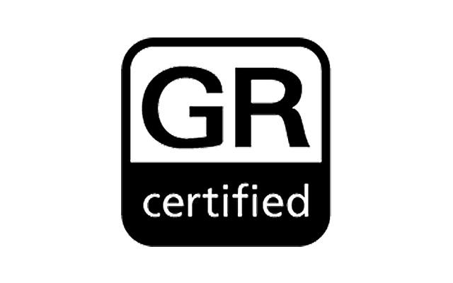 GR certified