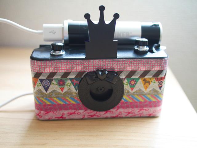 なかよし9月号の付録ピンホールカメラを本気でデジカメ化!