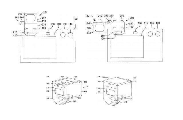 ニコンがアクセサリーシューを内蔵するアクセサリの特許を出願中