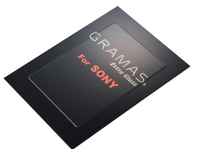 銀一監修 坂本ラジヲのEOS 7D Mark II、α7、Df用液晶保護ガラス「GRAMAS Extra Glass」