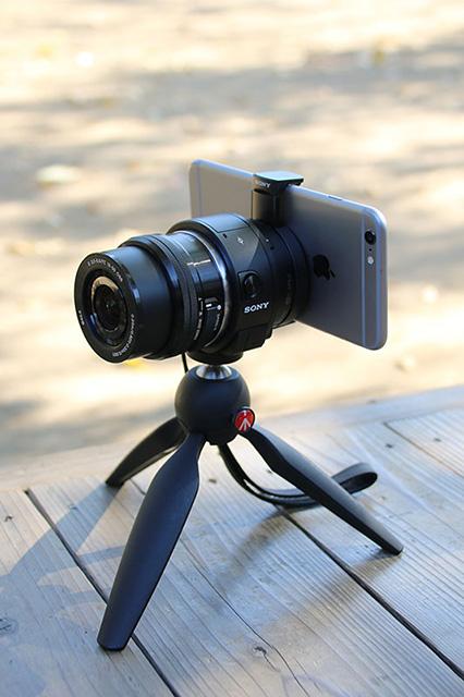 ソニー ILCE-QX1 レビュー「iPhone 6 Plusとの接続は、前モデルより速くなった印象」