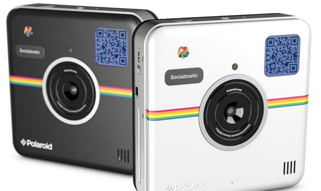 ポラロイド「Socialmatic」Android&プリンター内蔵デジタルカメラが発売開始!