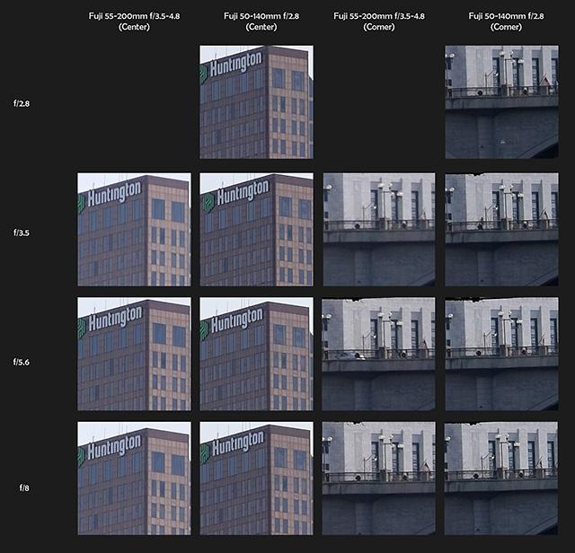 富士フイルム XF50-140mmF2.8 R LM OIS WR と XF55-200mmF3.5-4.8 R LM OISの画質比較作例。