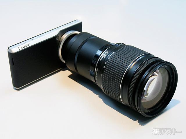 パナソニック「LUMIX CM1」で一眼レフ用レンズを使う!