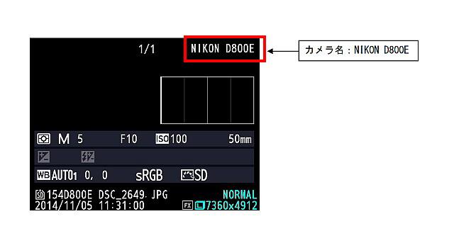 【注意】D800にD800Eのカバーを取り付けた不正改造品が出回っている模様。