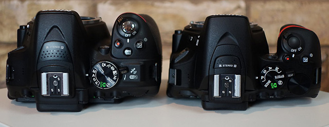 D5500 vs D5300