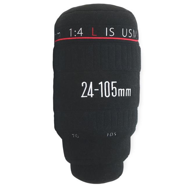 巨大カメラレンズ型クッション「Lens Pillows」