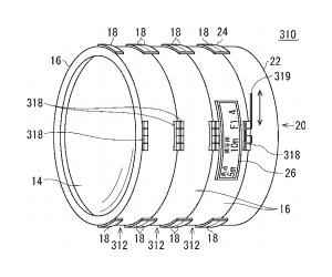 ニコンの組み立て式レンズの特許