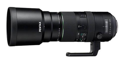 HD PENTAX-D FA 150-450mm F4.5-5.6ED DC AW