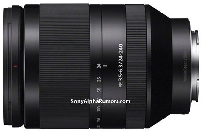 ソニー「FE24-240mm F3.5-6.3 OSS」