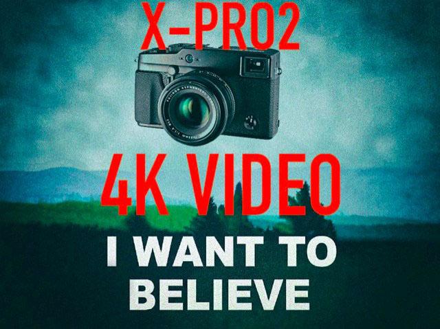 富士フイルム X-Pro2 は4K動画対応!?