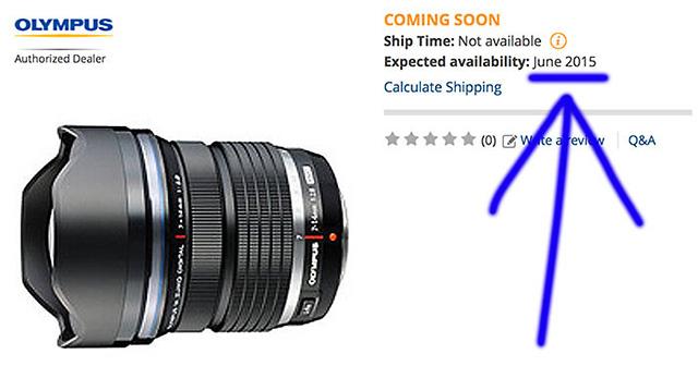 オリンパス M.ZUIKO DIGITAL ED 7-14mm F2.8 PRO は5月発表で6月発売!?
