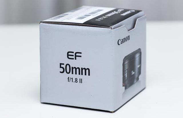 キヤノン EF 50mmF1.8 II レビュー