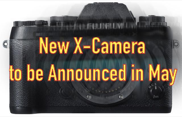 富士フイルムの新型Xシリーズが5月に発表される!?