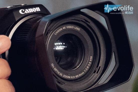 キヤノンのレンズ固定式4KカメラはC-Log採用でモジュール式