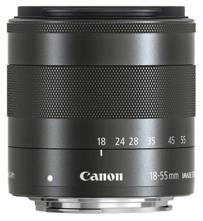 キヤノンがEOS M用レンズ「EF-M18-55mm F3.5-5.6 IS STM」の後継レンズ