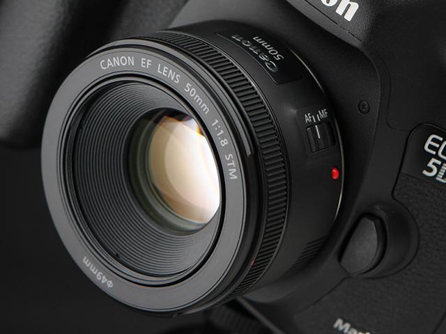 キヤノン EF50mm F1.8 STM レビュー