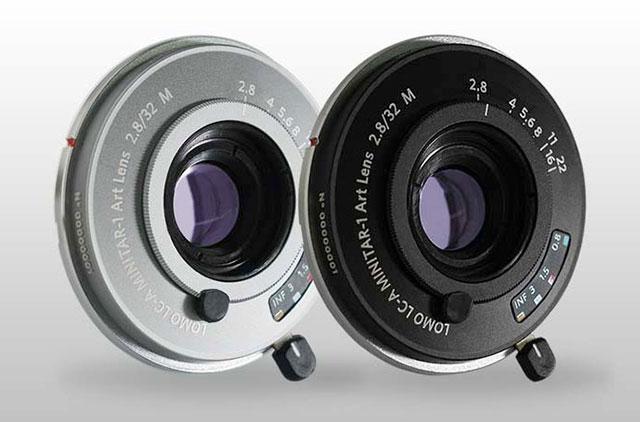 ロモグラフィー アートレンズ第三弾。Mマウント「Lomo LC-A MINITAR-1 Art Lens 2.8/32 M」