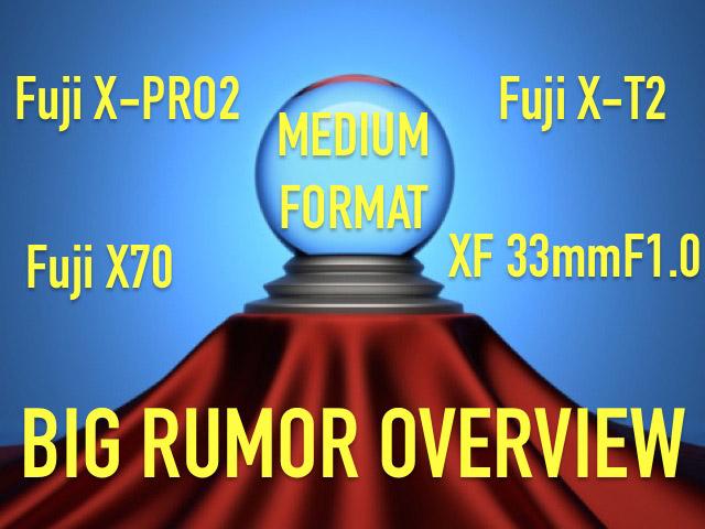 富士フイルムの噂まとめ。X-Pro2は4K対応で2016年登場!?X70も発表する!?