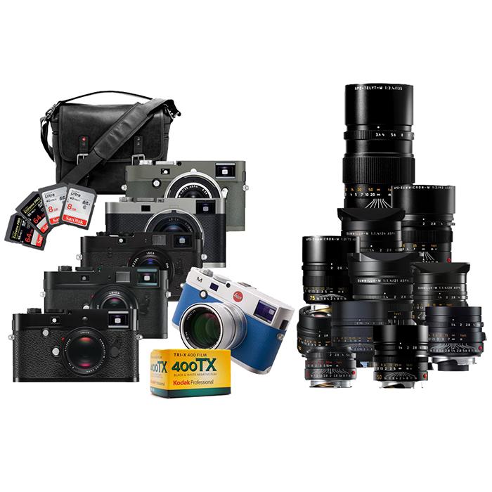 Leica Mシステム総撮り 男気セット 1640万円(税込)