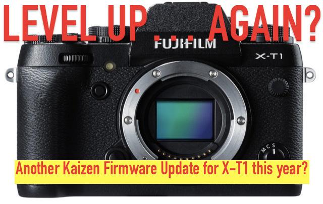 富士フイルムX-T1に、また新しいファーム「ファームウェア 5.00」がリリースされる!?