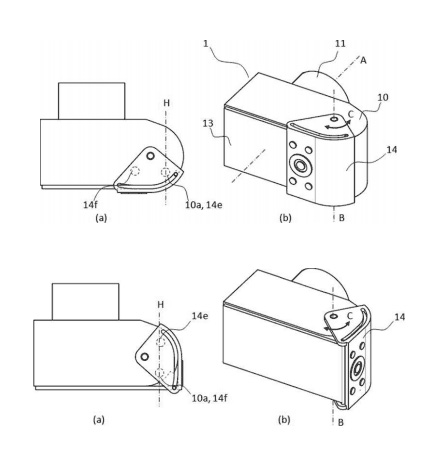 キヤノンが操作部を回動させて伸縮する背面液晶を開発中!?