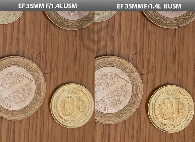 キヤノン EF35mm F1.4L USM vs EF35mm F1.4L II USM