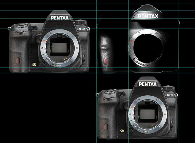 ペンタックス フルサイズ一眼レフとK-3のボディサイズ比較。横幅はK-3と同サイズ!?