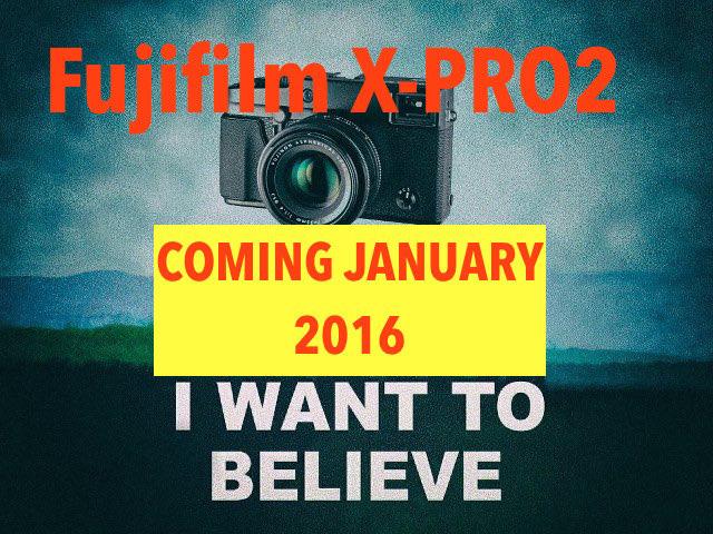 富士フイルム「X-Pro2」は、2016年1月に発表!?