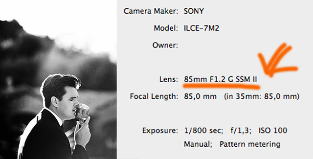 ソニーが「85mm F1.2 G SSM II」